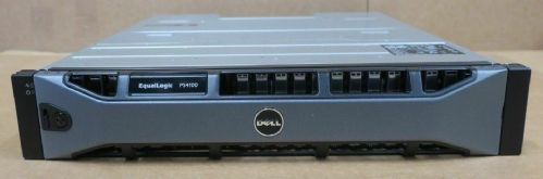Dell EqualLogic PS4100X Virtualized iSCSI SAN Storage Array 24x 300GB 15K HDD